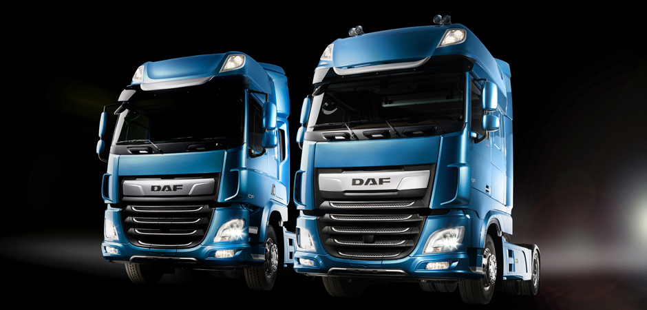 The New DAF CF series DAF XF series 2017 01 940