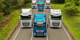 I veicoli DAF XF e CF sono stati premiati con il Good Design Award