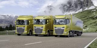 DAF mette in moto il futuro con i modelli di nuova generazione XF, XG e XG+